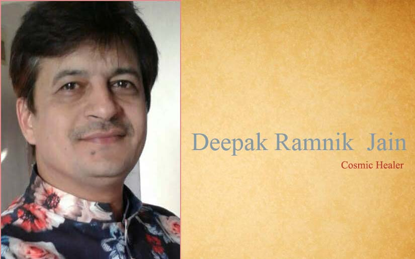 Best Cosmic Healer In India Mr Deepak R Jain