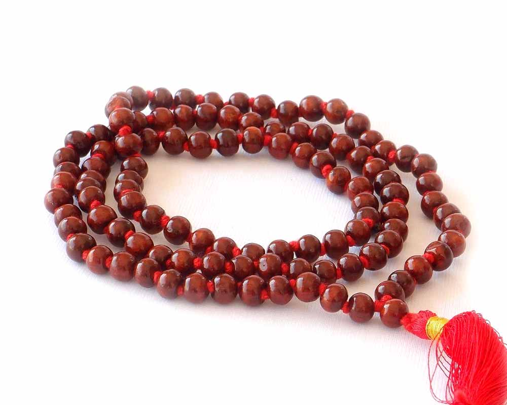 RED PUJA MALA